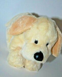 "Yellow Lab Puppy Dog Black Nose Ganz Webkinz HM153 Plush 9"" Toy Lovey No Code"