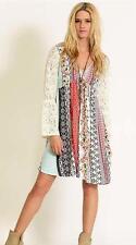 Boho Bohemian Peasant Lace Bell Sleeves Dress Kori America Umgee NEW Small
