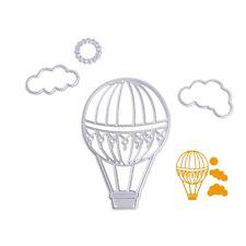 Hot Air Balloon Cutting Dies Stencil DIY Scrapbooking Album Card Embossing Craft