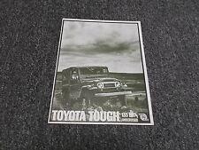 Toyota Land Cruiser FJ40 FJ45 135 HP Soft Hard Top Station Wagon Truck Brochure