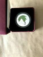 "2008 ROYAL CANADIAN MINT ""CRYSTAL RAINDROP"" $20 FINE SILVER COIN"