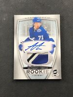 2018-19 UPPER DECK THE CUP ANTHONY CIRELLI ROOKIE AUTO PATCH SILVER #ed 188/249