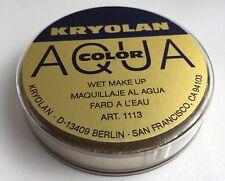 Kryolan Aquacolor Oro Metálico enorme 55ml mojado Maquillaje cara y cuerpo de ex gran BN