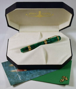 Ancora Cielo Demonstrator, transparent green limited edition of 500, mint in box