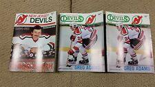 NJ DEVIL'S 1984-85 PROGRAM VOL 3 # 3 & Vol 4 # 1