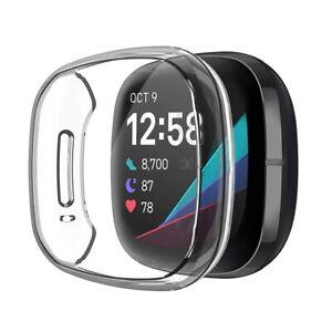 Sports Strap For Fitbit Versa 3 / Sense Watch Bands Silicone Bracelet Wrist Band