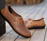 Hot Sale Mens Fashion Casual Driving Slip on Loafers Moccasin Breathable Shoes