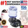 AUTOMATIC PET WATER DISPENSER Feeder Puppy Dish Food Feeding Bowl Cat Dog