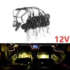 8m Strip 360°RGB 1IN9 AMM LED Car Atmosphere Lamp Door Dash Ambient Light Flash