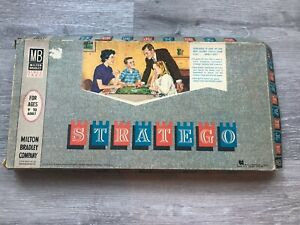 Vintage 1962 Stratego Board Game REPLACEMENT PIECES You Pick!