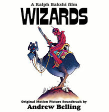 Wizards - Complete Score - Black Vinyl - Limited 1000 - Andrew Belling