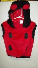 z- CLOTHES COSTUME CHILDS SZ 2 T CUTE LADYBUG WARM COLORFUL W/MATCHING GLOVE