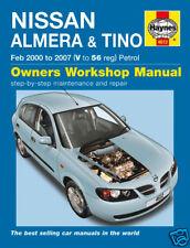 Haynes Nissan Almera & Tino 2000 - 2007 Manual 4612 NEW