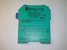 Pepperl+Fuchs  KFD2-SD-Ex1.48 SELENOID DRIVER ***