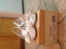 Michaelangelo JMF dyeable heels size 8