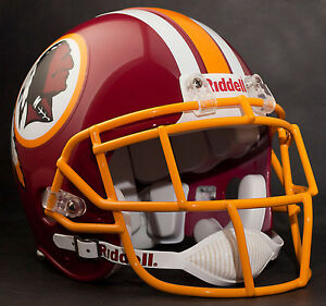 DEION SANDERS Edition WASHINGTON REDSKINS Riddell AUTHENTIC Football Helmet NFL