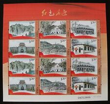 China stamp 2012-14 Historical Relics of Chinese Communist Party 红色足迹 Mini Sheet