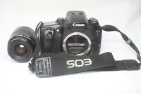 Canon EOS 7 35mm SLR Film Camera & EF Zoom 35-80mm F/4-5.6 AF Lens Made In Japan