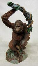 1990 Franklin Mint Orangutang Pongo Pygmaeus Figurine Wildlife Preservation
