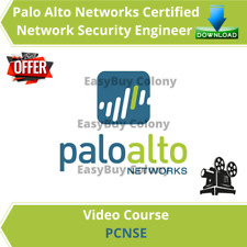 PCNSE Palo Alto Networks Certified Network Security Engineer Video Course