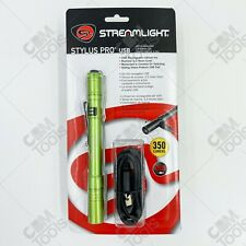 Streamlight 66145 Stylus Pro® USB LED Rechargeable Pen Light GREEN