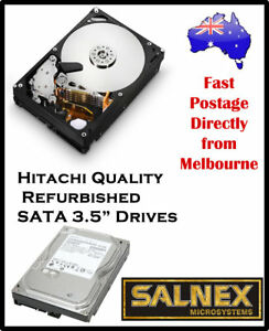 "HITACHI 750 GB 3.5"" Internal SATA Hard Drive MODEL: HDS721075KLA330 For PC & MAC"