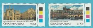 Tschechische Republik aus 2016 ** postfrisch MiNr. 898-899 UNESCO-Welterbe