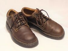 BORN Women's Size 9.5-10 M Brown Oiled Leather Lace-Ups Sturdy Casual Oxfords