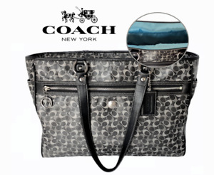 Coach Chelsea Signature Tote or Shoulder Bag; Canvas, Weekend, Travel, org $350