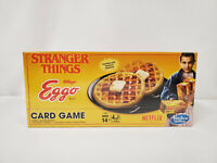 NEW SEALED 2017 Stranger Things Eggo Waffles Card Game Hasbro Netflix