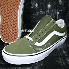 bead67961e413 VANS Old Skool Winter Moss Green True White Shoes Mens 8 Womens 9.5