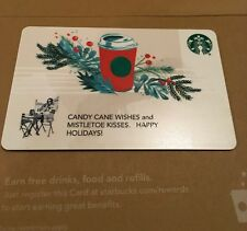 """STARBUCKS  GIFT CARD / CO-BRANDED"""" RED CUP HOLIDAY """" 2017  NO CASH VALUE"""