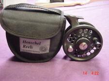 HENSCHEL DIRECT DRIVE #3 3109 Black & Silver fly reel
