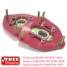 Racing Front Camber Pillow Ball Top Mount Toyota Corolla AE100 AE92 AE111 Levin