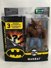 DC SPINMASTER THE CAPED CURSADER 4 INCH MANBAT 1ST EDITION!