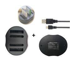 DUAL USB Battery Charger for Fujifilm FUJI NP-45 A/B NP-45S BC-45 A/B BC-45B