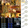 6 Pack 20 LED Battery Micro Rice Wire Copper Fairy String Lights Decor Party