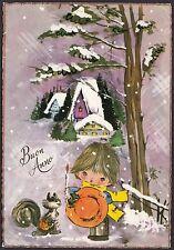 AA4818 Buon Anno - Cartolina postale augurale - Postcard
