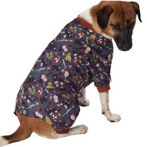 Petrageous Dog PJ's - Acadia Woodland Animals Pajamas XS S M L XL