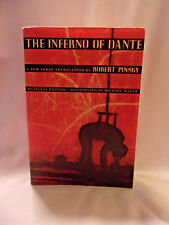 THE INFERNO OF DANTE BY ROERT PINSKEY BILINGUAL EDITION / ILLUSTRATED BY MICHAEL