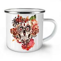 Day Dead Rock NEW Enamel Tea Mug 10 oz | Wellcoda