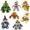 Super Mario Bros King Koopa Bowser,Odyssey Bowser, Dark Bowser Plush Doll Toy