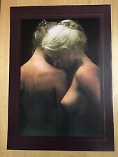 ANNETTE,'REFLECTIONS' PHOTO BY DAVID HAMILTON MEGA RARE 1976 ART POSTER