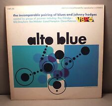 33 TOURS - JAZZ - ALTO BLUE - INCOMPARABLE PAIRING OF BLUES AND JOHNNY HODGES *