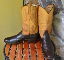 Men's Rios of Mercedes Sz 11 AAA Brown & Tan Boots