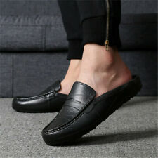 New Men's House Slippers Closed Toe Loafers Classic Comfort Soft Padded Shoes