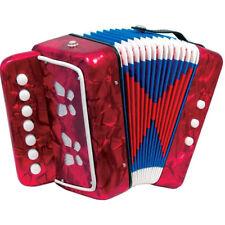 Fisarmonica Il Mio Primo Organetto 3 Bassi Strumenti Musicali Giocattoli Bambini