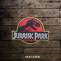 Jurassic Park Movie Video Game Embroidered Iron On Sew On Patch Badge