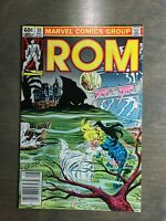 Rom vol-1 ~ #33 VF-NM Marvel Comics ~ Bronze Age (1982)