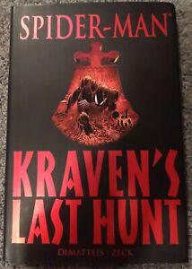 Spider-Man: Kraven's Last Hunt - Marvel Premiere Hardcover